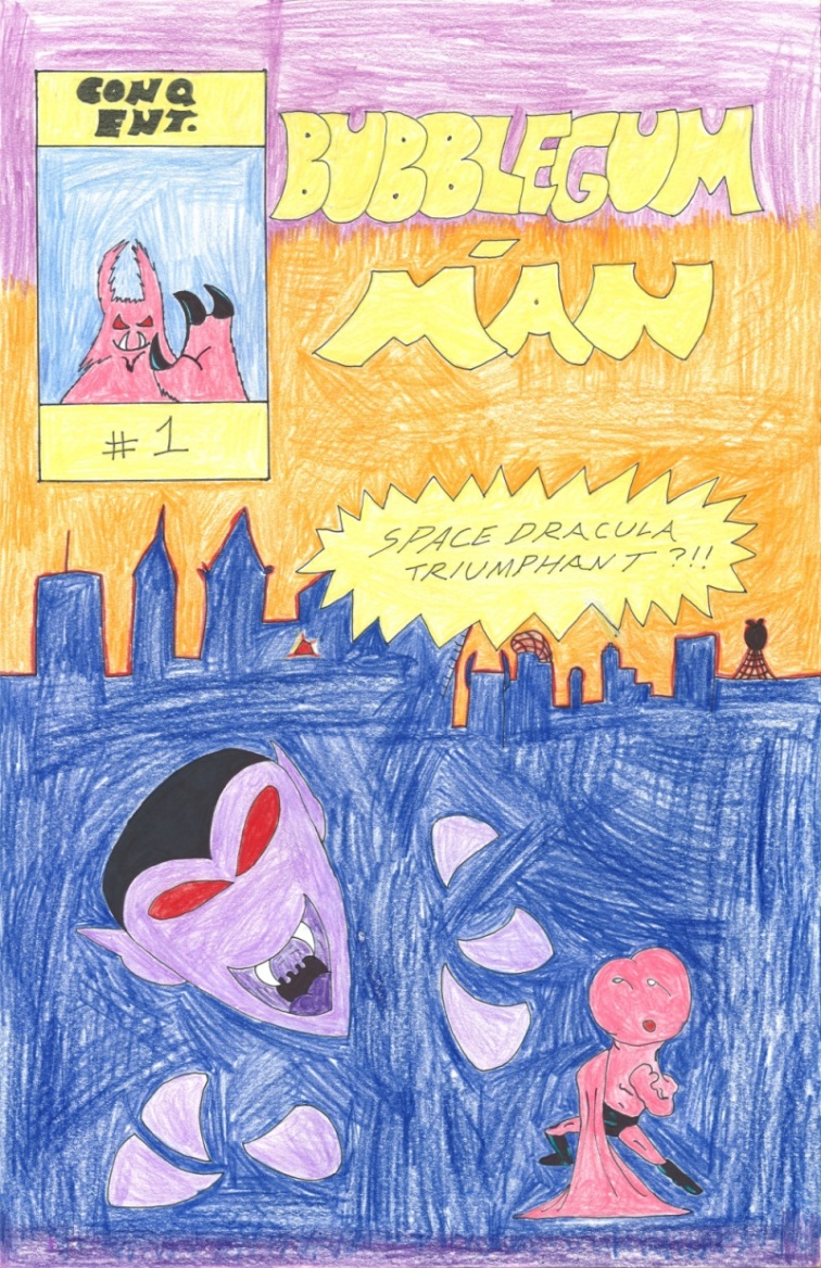 B-Man 1 Cover